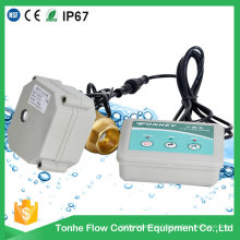 Dn20 with Indicator Brass Sensor Water Leak Detection Detector System Valve