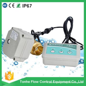 Dn20 con indicador de latón sensor de detección de fugas de agua del sistema del detector de válvulas