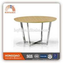 T-Y6 table basse en acier table basse en bois table basse