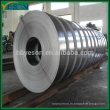 Tira de acero galvanizada de la inmersión caliente al por mayor