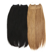 Brazilian Natural Top Quality Remy Knot Thread Tie Kind No Tip Hair Extensions Human Hair