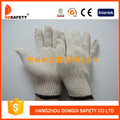 White Natural Cotton Working Gloves Dck410
