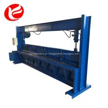 Máquina de corte de chapa de alumínio