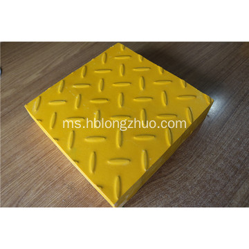 Bahan resin Phthalic FRP Grating Cover 1220x3660mm