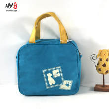 Small delicate bento canvas bag for women