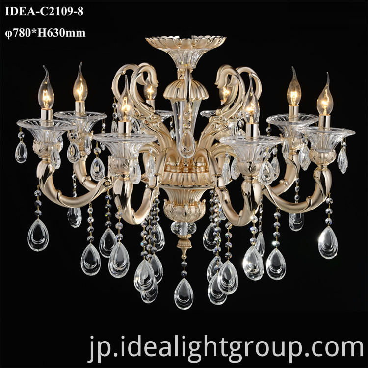 hotel project chandelier