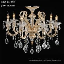 décoration intérieure lampe bougie chandeliers