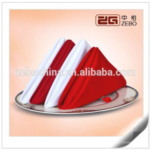 100% Polyester Plain Leinen Hochzeit oder Restaurant Gebrauchte Tuch Servietten