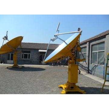 Tipo parabólico concentrador do prato de Csp solar térmico com sistema de rastreio de GPS para o uso comercial