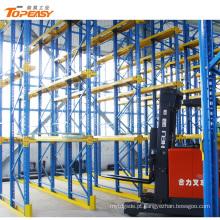 armazenamento pesado do armazenamento do filo da movimentação dever na movimentação da cremalheira através