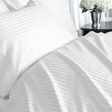 1cm Cotton Damask Sọc Duvet Cover