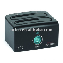 ORICO 8628US3-C HDD Docking Station clon USB3.0 2 BAY DISCO DURO CLONE, Dual Bay HDD Cloner