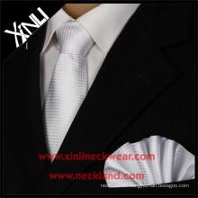 Chine Fabricant Haute Qualité Soie Jacquard Tissé Hommes Étiquette Privée Assorties Cravates