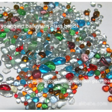 Garden Landscaping Colored Glass Bead