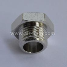 Hexagonal Plug - Brass Fittings - BSPT Male Thread