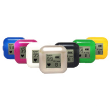 Cheapest Medical Colors OLED Display Blood Oxygen SpO2 Ring Pulse Oximeter