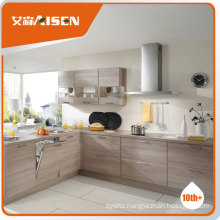 Philippines market economic and high quality MDF & melamine kitchen cabinet