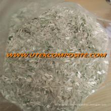 Fibra de vidrio de 4,5 mm de longitud de fibra de vidrio triturado cortado para PA