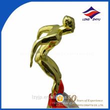 factory nice price metal sculpture trophy sport trophy component