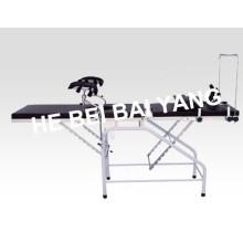 A-182 Lit de livraison en plastique pour gynécologie et obstétrique