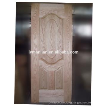 ornamental real wood door veneer molded door skin