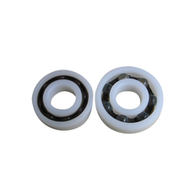 Skateboard Wheel Plastic Deep Groove Ball Bearing 12x32x10mm 6201