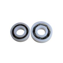 Rolamento de esferas profundo plástico 12x32x10mm do sulco da roda do skate 6201