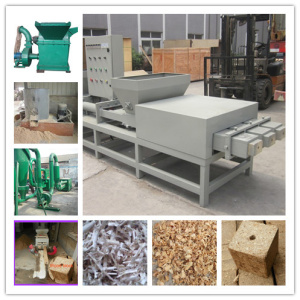 Wood Sawdust Block Extruder Machine