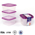 thailand easy open oven safe weight plastic food container