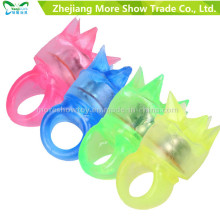 LED Flashing Color Light up Bumpy Rings Party Favor