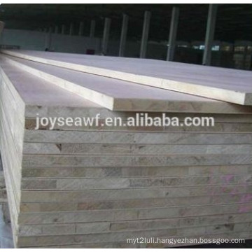 19mm natural Ash veneer blockboard