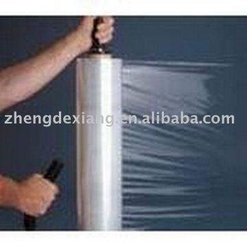 Filme estirável LLDPE / bobinas jumbo / rolo para uso manual