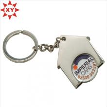Zink-Legierungs-weiche Email-Einkaufswagen-Laufkatzen-Münzen