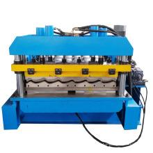 Glasierte Fliesen-Metalldach-Profil-Rolle, die Maschine bildet
