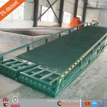 Rampa móvel da jarda do CE do fornecedor da porcelana de 15 toneladas / rampa de carga resistente / rampa hidráulica para o caminhão