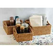 (BC-R1011) Manual Craft Natural Rattan Basket