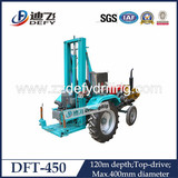 Large Diameter Dft-450 Tractor Drilling Rig for Water Wells