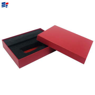Red paper custom EVA gift box