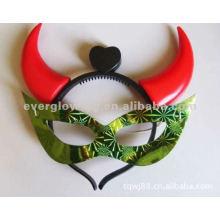 máscaras de cuerno de resplandor venta caliente máscara intermitente