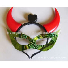 glow horn masks hot sale flashing mask