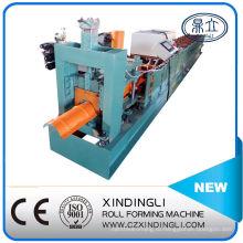 Профилегибочная машина для производства крышек из стали с возможностью горячей замены цветной стали