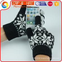 Luvas quentes do toque da tela da forma para toda a luva esperta do toque do telemóvel venda