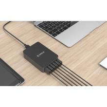 ORICO QSE-6U 6ports carregador de mesa USB carregador QC 2.0