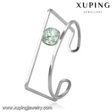 51669 xuping браслет из нержавеющей стали особой формы с кристаллами от Swarovski