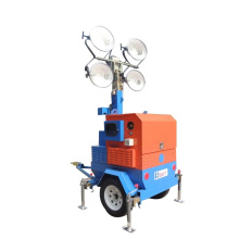 Stadium and mine and road construction Lighting Tower Hire High Intensity LED flood Lights