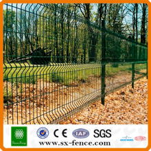 pvc coated bending iron fence design