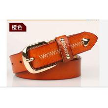 Women fashion belt buckle slimming leather belt of hangzhou trading company