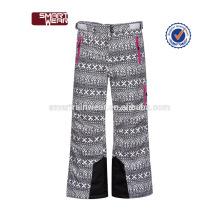 2018 New Design Outdoor Kids Pantalones de esquí para niños