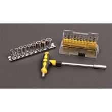 OEM Hand Tools 21PCS CRV Steel Screwdriver Bit & Socket Set