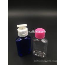 Botella plástica de la tapa del tirón de la botella de la tapa del tirón de 30ml con el casquillo